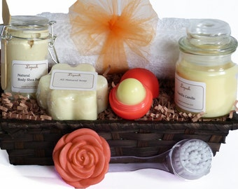 Bridesmaid bath gift. Spa gift basket. Spa Gift set. Bath and Body gift. Gift Set. Bridesmaids spa Gift, Relaxation and skin care gift set