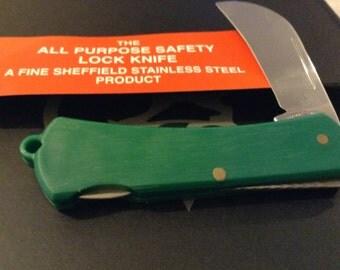 Lock back pruner knife