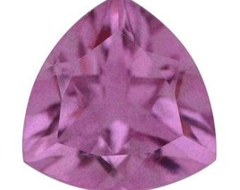 African Lilac Triplet Quartz Trillion Cut Loose Gemstone 1A Quality 10mm TGW 3.00 cts.