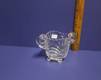 Cambridge Glass Caprice large sugar