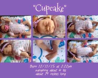 Reborn doll, reborn baby, reborn babies, reborn baby girl, baby girl, baby dolls, newborn baby, Cupcake, Molly by Tasha Edenholm