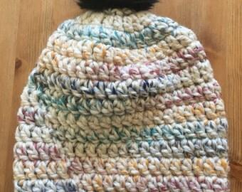 Hudson Bay slouchy beanie, winter hat, slouchy beanie, adult winter hat