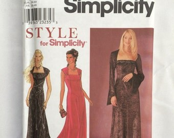 1990's Simplicity pattern 8839 Misses size 8-18 Style for Simplicity Dress