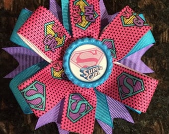 Super Girl Hair Bow