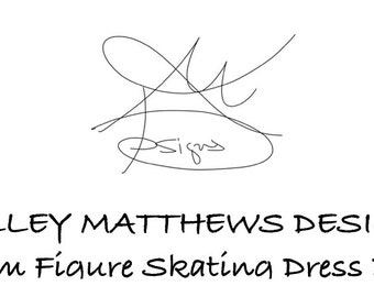 Custom Figure Skating Dress Deposit