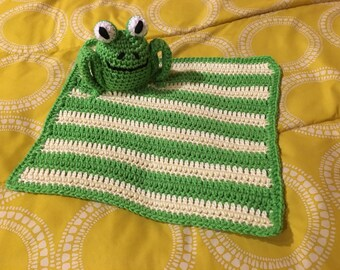 Frog security blanket