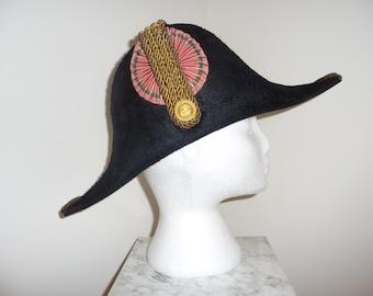 Very Rare Danish Navy Officer Bicorn Hat – circa early 19th Cent