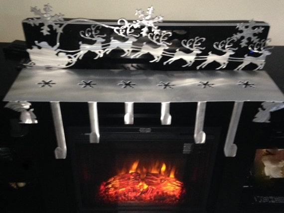 christmas stocking holder christmas stocking hanger mantle. Black Bedroom Furniture Sets. Home Design Ideas
