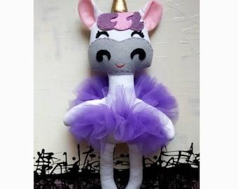 Custom Unicorn Plush