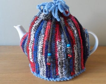 Pattern for a 'Waste Not' Tea Cosy (delivered by email in PDF format)