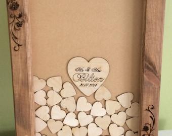 Wedding drop box guest book