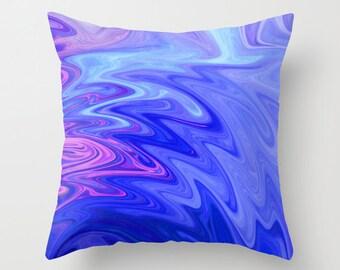 Abstract Art Pillow, Decorative Pillow, Throw Pillow, Pillow Cover, Home Decor, Accent Pillow, with Optional Insert