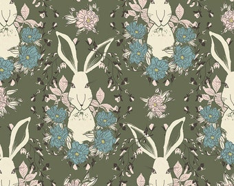 In the Thicket in Dusk, Forest Floor Collection by Bonnie Christine for Art Gallery Fabrics 6101