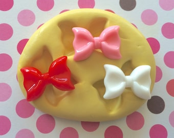 BOW Set Silicone MOLD - Resin Bow Molds, Soap, Craft Supply, Molds, Cookie Decor, Bow Mold, Polymer Clay Molds, Craft Supply, Clay Molds