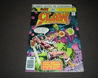 Claw the Unconquered 8, (1976), (1st Series), DC C13