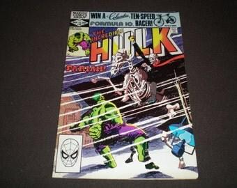 Incredible Hulk 268, (1982), Marvel C08