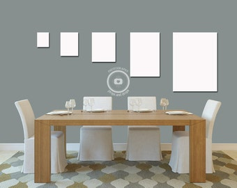 Wall Art Guide - Digital Download - Dining Room 01