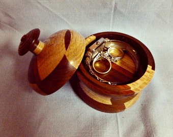 Ring Box, Ring Holder, Proposal Ring Box, Jewelry Box, Wedding Ring Box, Jewelry Holder, Ring Bearer Box
