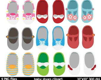 Baby shoes clipart   baby shoes printable   baby shoes mary jane clipart   baby clipart