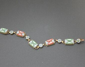 Colorful Vintage Micro Micro Mosaic Bracelet