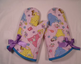Princess Oven Mitts!