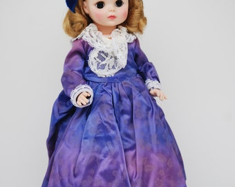 """Vintage Madame Alexander ABIGAIL ADAMS 14"""" Doll First Ladies of the United States Collection"""