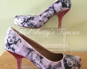 Marilyn Monroe Heels, Made to Order