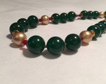BALANCE-50% from the price marked jade Necklace