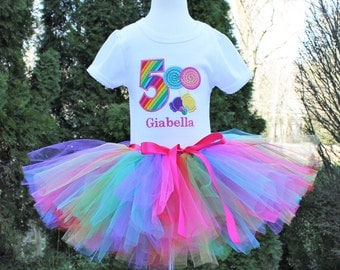 Candy Birthday Tutu Outfit