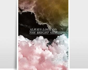 """A3 Artprint """"Pink Clouds"""""""