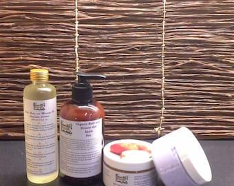 Organic Spa Beauty Set