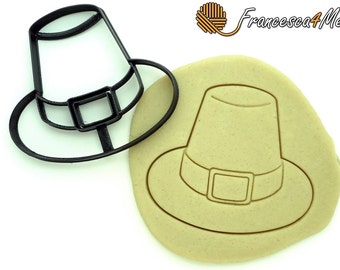 Pilgrim Hat Cookie Cutter/ Multi-Size