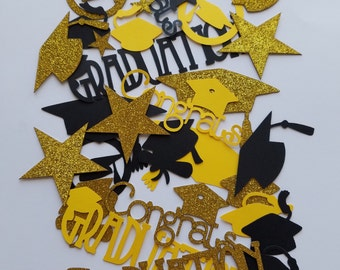 Graduation Themed Scrap Booking Die Cut Out Confetti Embellishments