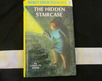Hardback Nancy Drew The Hidden Staircase by Carolyn Keene Mystery Book