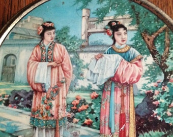 1960s Chinese Biscuit Tin