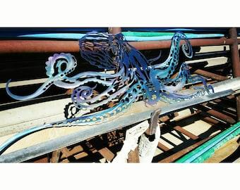 Metal Art Octopus