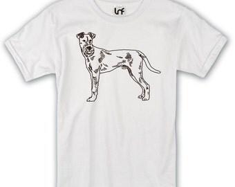 Irish Terrier Dog Mens T-Shirt (SB747)