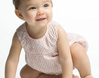 Romper baby girl, baby pink romper, Romper girl, Baby clothes, Baby girl outfit, Lining rompers, Summer girl romper