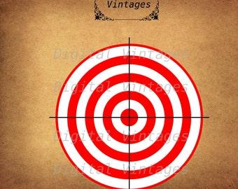 Target Practice Bullseye  Design Detailed illustration Digital Image Graphic Download Printable Clip Art Prints 300dpi svg jpg png