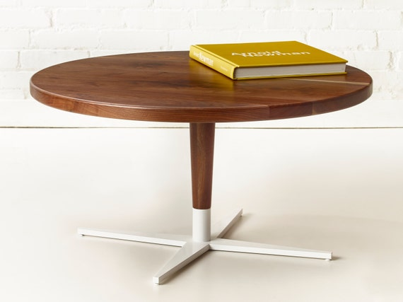 Side Show Coffee Table Round Modern Pedestal Table