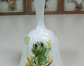 RARE Sears Roebuck and Company Neil The Frog Kitchen Dinner Lunch Bell 1978 1979 Made Japan 100% Original Clapper w Chain Excellent Vintage