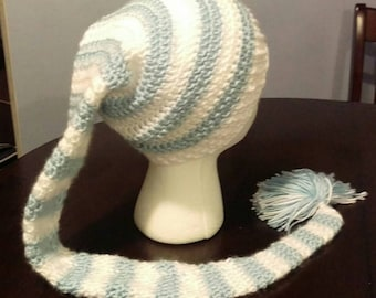 Long Tailed Striped Hat