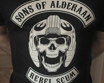 "Star Wars inspired ""Sons of Alderaan"" T Shirt."