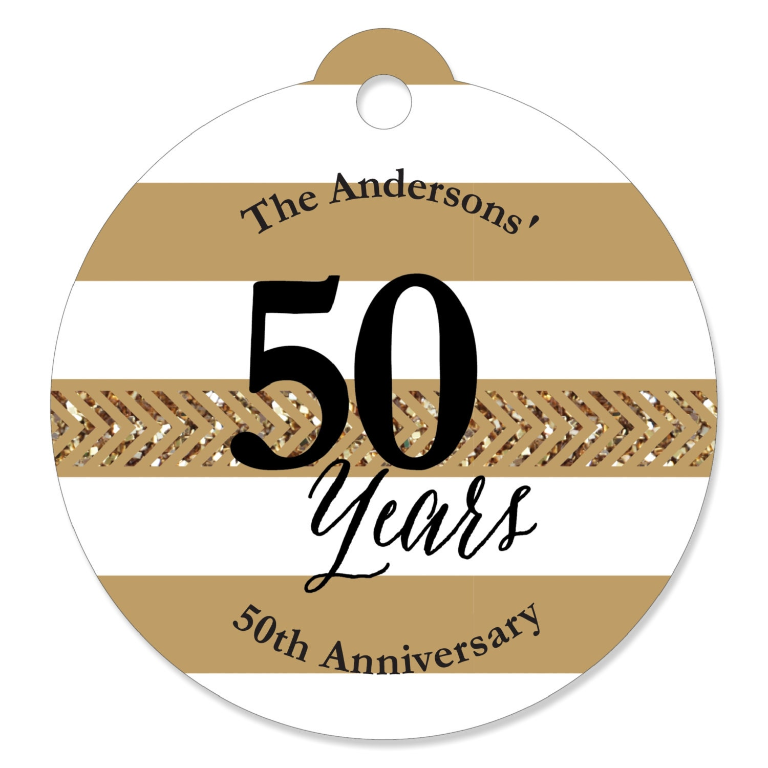 We Still Do 50th Anniversary Personalized Party Tags
