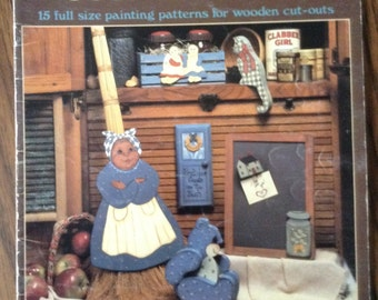 Wooden It Be Country Faire 15 Full Size Painting Patterns for Wooden Cut-outs
