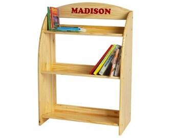 Kid's Bookshelf, Kid's Bookcase, Kid's Book Shelves, Unfinished Furniture Kit, DIY Furniture