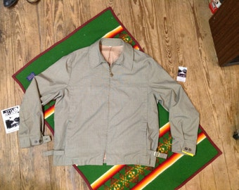 Vintage 50s/60s Holman Drizzler Jkt sz XL in Nice Condition
