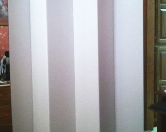 "Dorm Room Divider Folding 6 Panel Privacy Screen 65"" Tall"