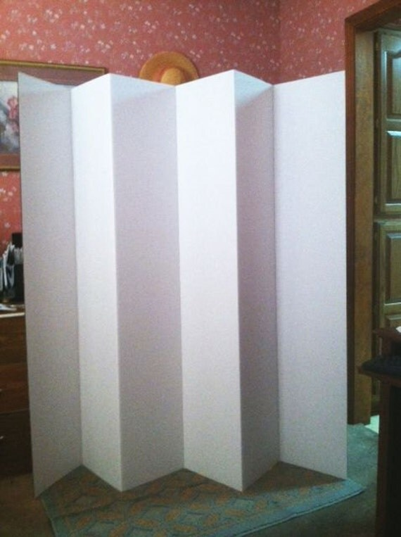 Dorm Room Divider Folding 6 Panel Privacy Screen 65 Tall