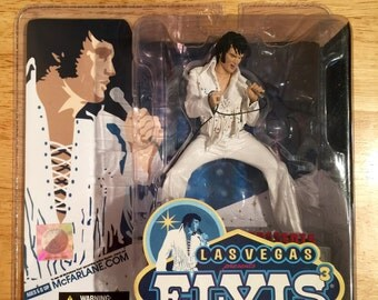 Mcfarlane Las Vegas Elvis Presley figurine~Elvis Presley toy~Elvis Presley doll~Mcfarlane toys~Elvis Presley collectibles~Elvis Presley